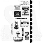 SAY Cling Mounted Stamp Set - Wendy Vecchi Supplies for Art