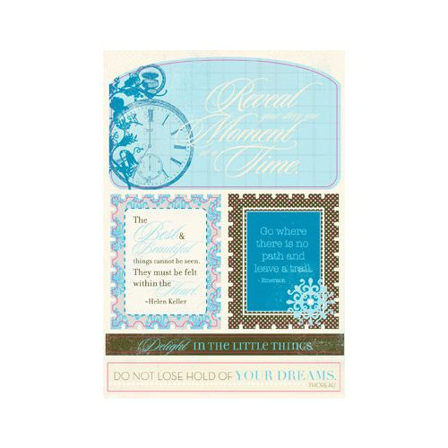ATQ Cardstock Die-Cuts - Excerpts Journey