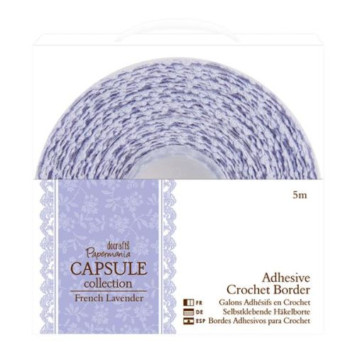 DOC Adhesive Crochet Borders French Lavender