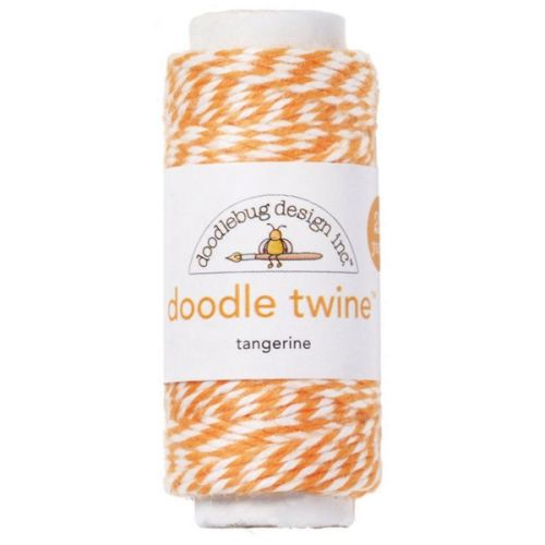 DDB Doodle Twine - Tangerine