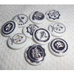 SRH Embellishments - Buttons/Knöpfe Nautical B/W
