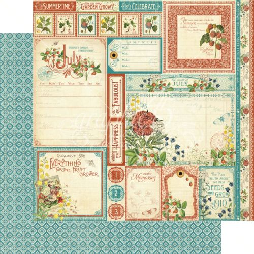 G45 Cardstock - Time to Flourish July