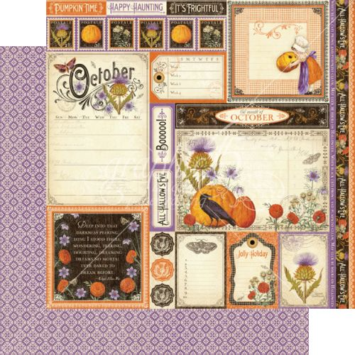 G45 Cardstock - Time to Flourish October