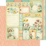 G45 Cardstock - Time to Flourish April