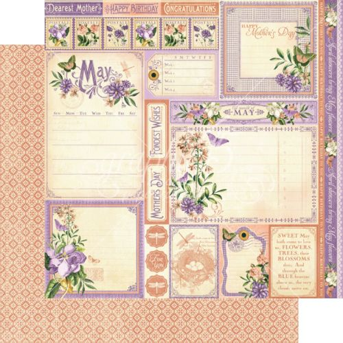 G45 Cardstock - Time to Flourish May