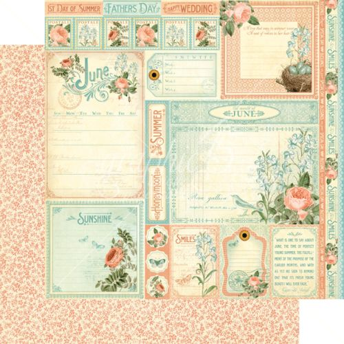 G45 Cardstock - Time to Flourish June