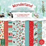 TRC Paper Pad 6x6 -  Helz Cuppleditch Wonderland
