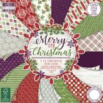 TRC Paper Pad 12x12 -  First Edition Merry little Christmas