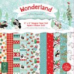 TRC Paper Pad 12x12 -  Helz Cuppleditch Wonderland