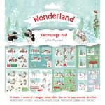 TRC Paper Pad 8x8 -  Helz Cuppleditch Decoupage Wonderland