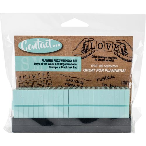 CCT Clickable Stamp Set - 5/32 Weekday Set