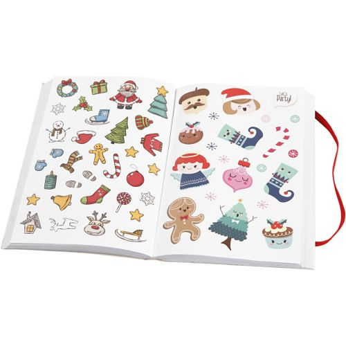 CCH Sticker-Book Merry Christmas