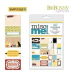 BOB Journaling Cards - Misc Me Happy Tails Dog