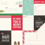 PEB Cardstock -  Home for Christmas Merry and Bright