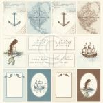 PIO Cardstock - Legends of the Sea Images from the Past