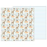 PEB Cardstock -  Lullaby Baby Boy Woodland