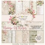 SCB Paper Pack 12x12 - House of Roses