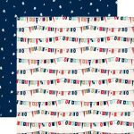 CTB Cardstock - Ahoy There Ship Flags