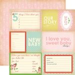 CTB Cardstock - Baby Mine Our Story