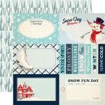 CTB Cardstock - Snow Fun Journaling Cards