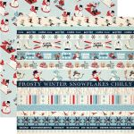 CTB Cardstock - Snow Fun Border Strips