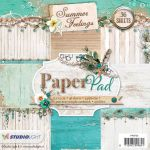 STL Paper Pad 6x6 - Summer Feelings Wood