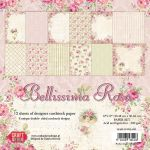 CYD Paper Pack 12x12 - Belissima Rosa