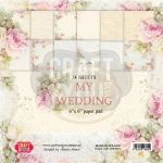 CYD Paper Pack 6x6 - My Wedding