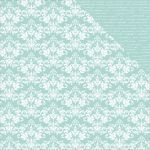 KSC Cardstock - Back to Basic Seabreeze Damask