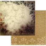 COC Cardstock - Hearts Ease Golden Frame
