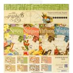 G45 Paper Pad 8 x 8 - Seasons