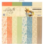 G45 Paper Pad 12 x 12 - Seasons Print & Solid