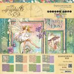 G45 Paper Pad 12 x 12 - Papercrafting Set Fairy Dust