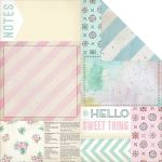 MFR Cardstock - The Sweet Life Bits & Pieces