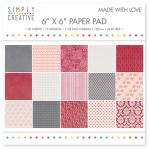 TRC Paper Pad 6x6 - Simply Creative Made with Love