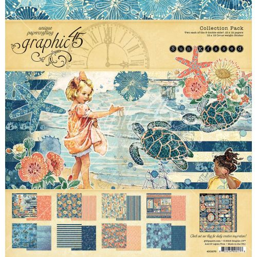 G45 Paper Pad 12x12 - Sun Kissed Collection Pack