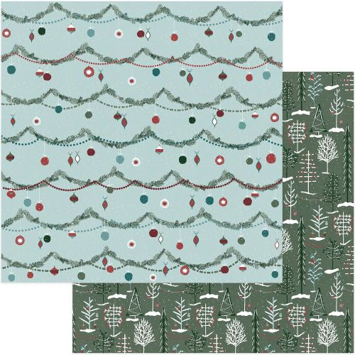 PTP Cardstock - Winter Meadow Winter Woods