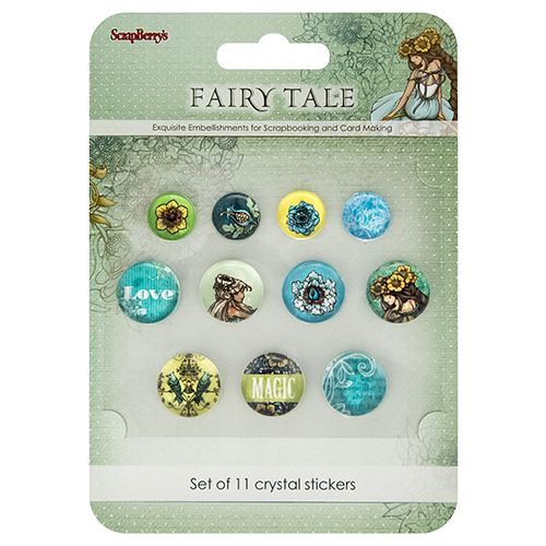 SCB Crystal Sticker - Fairy Tale