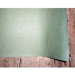 SRH Cotton Leather/Baumwoll-Papier - Seagreen mit...