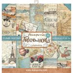 STP Paper Pad 12x12 - Around the World