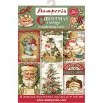 STP Scrapbooking Cards 4.5 x 6.5 - Christmas Vintage