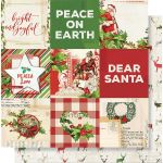 SST Cardstock - Simple Vintage Christmas 4X4 Elements