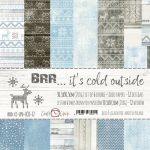 SCB Paper Pack 12x12- Brr...its cold outside