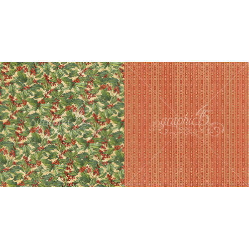 G45 Cardstock - Winter Wonderland Holly Berries