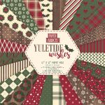 TRC Paper Pad 12x12 - Paper Addicts Yuletide Wishes