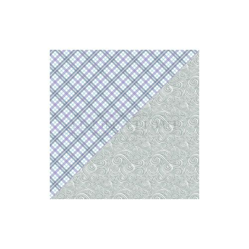 ATQ Cardstock - Frosted Plaid