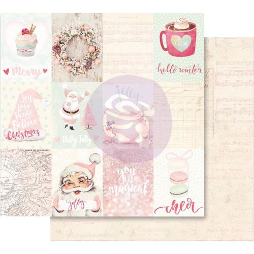 PRM Cardstock - Santa Baby Christmas Magic