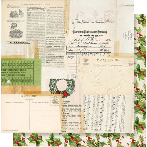 SST Cardstock - Simple Vintage Christmas tis the Season