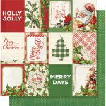 SST Cardstock - Simple Vintage Christmas 3X4 Elements