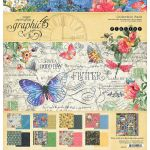 G45 Paper Pack 12x12 - Flutter Collection